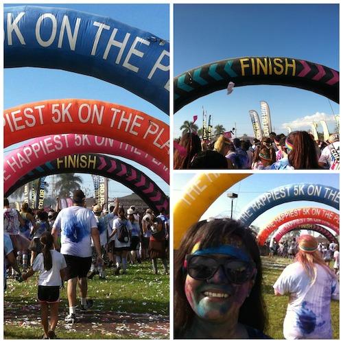 The Color Run Maui 2014 - Finish