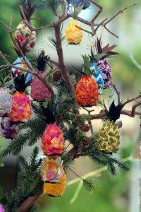 Pineapple ornaments