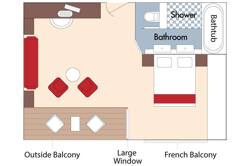 AmaStella Deck Plans, Highlights  Sailings - AmaWaterways™
