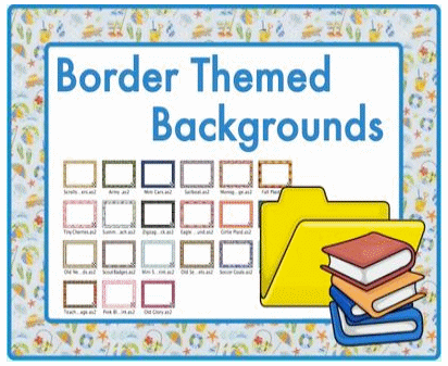 Themed Border Backgrounds 2 Promethean Resource Gallery