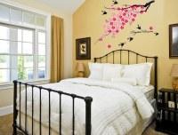 Creative Bedroom Wall Art Sticker Ideas