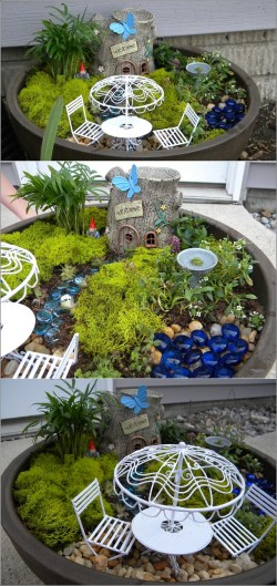 Small Of Miniature Fairy Gardens