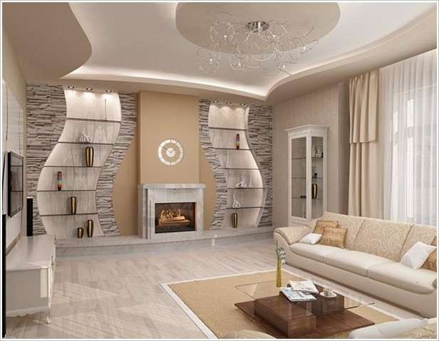 5 Spectacular Accent Wall Ideas for Your Living Room - accent wall in living room