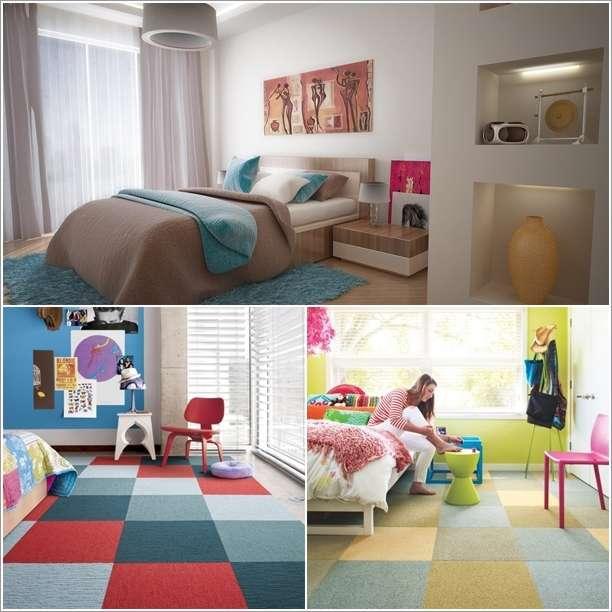 10 Amazing Bedroom Flooring Ideas for Your Home - bedroom floor ideas