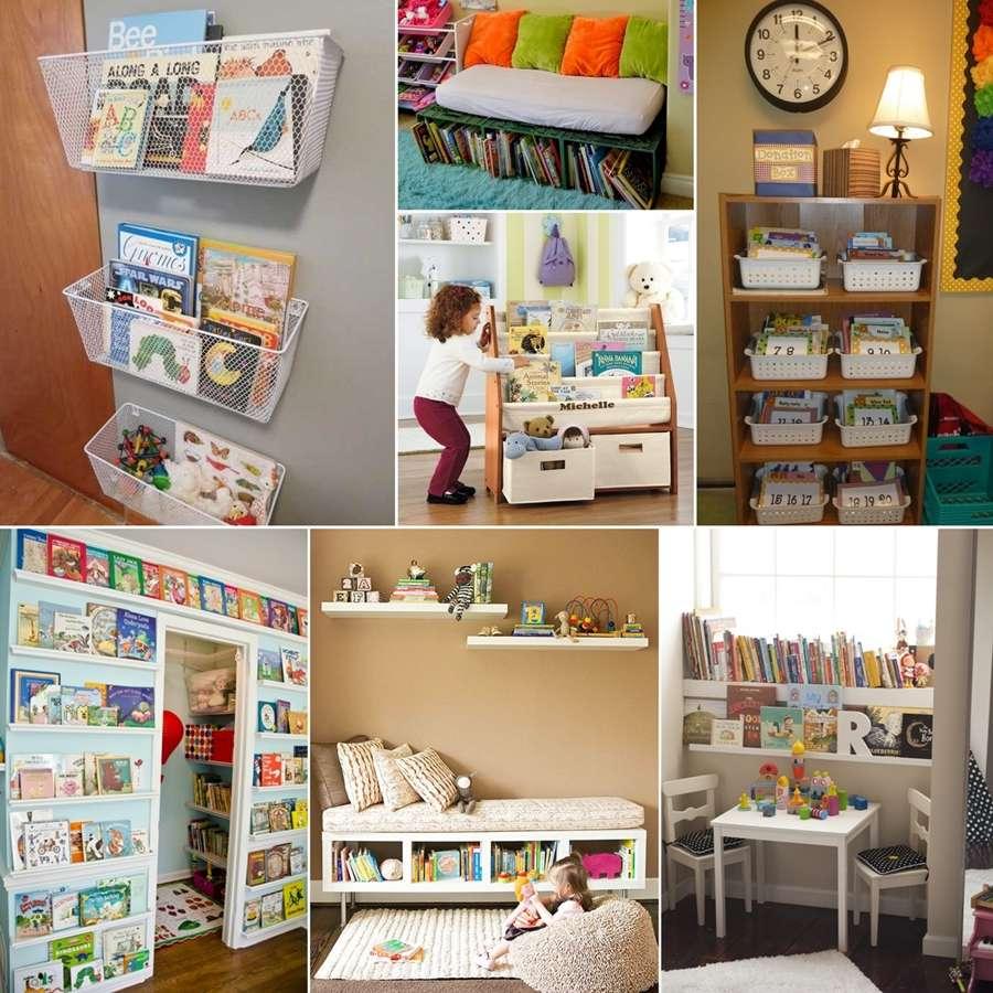 Storage Book Storage Ideas For Kids