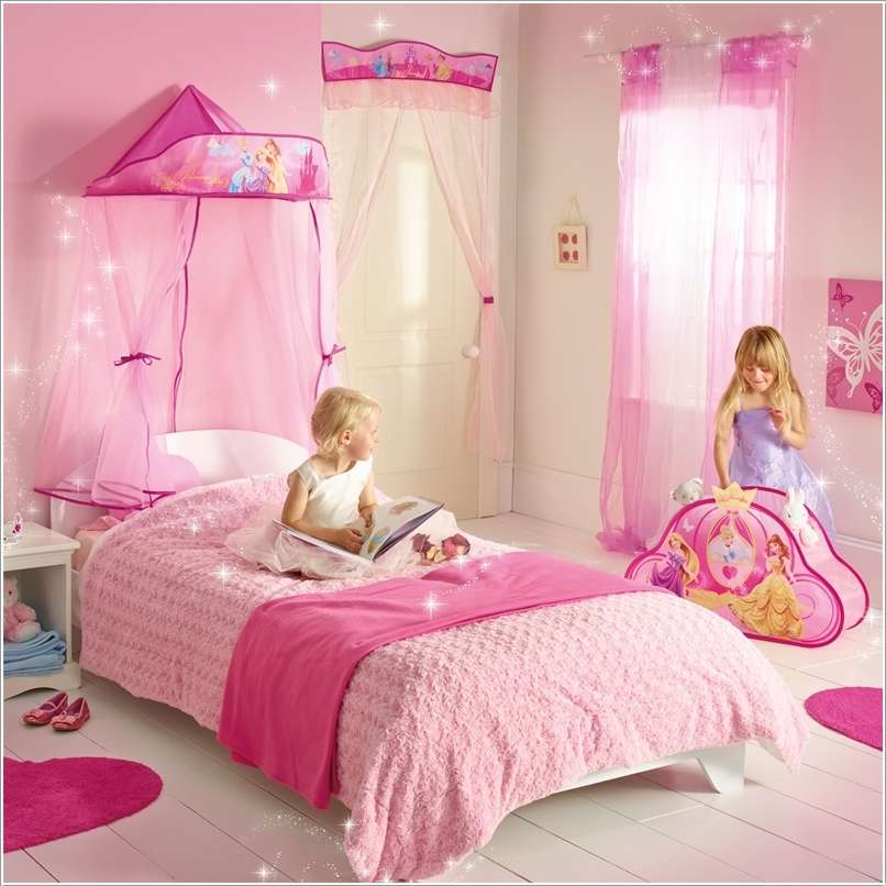 15 lovely disney princesses inspired girls room decor ideas