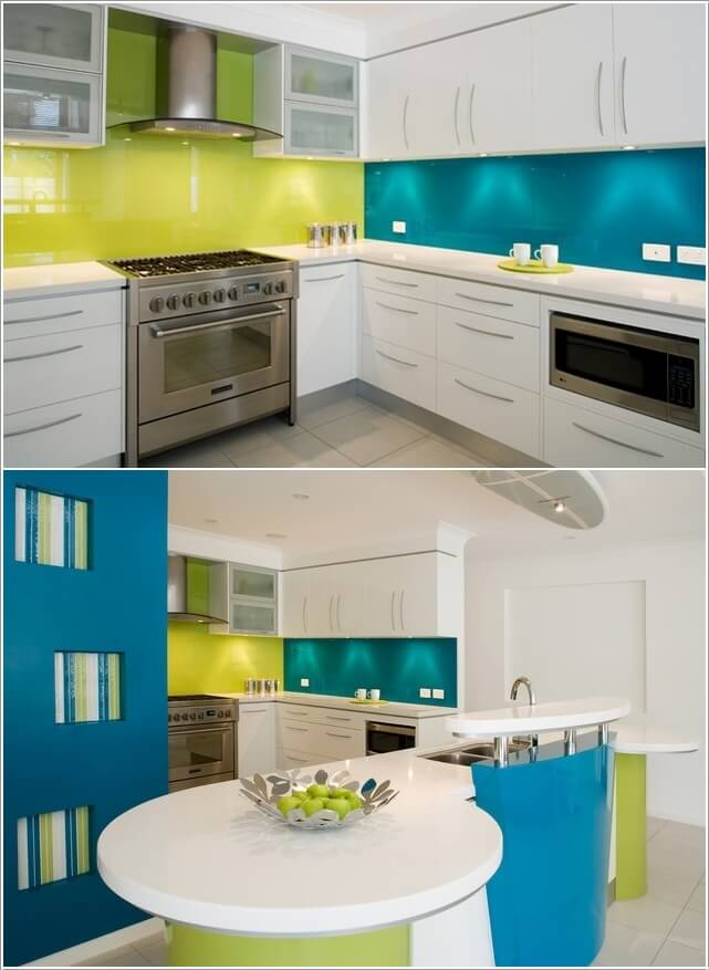 Design Your Kitchen with a Cool Color Scheme 7