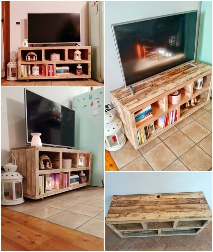 Make Furniture for Your Living Room with Pallets 4