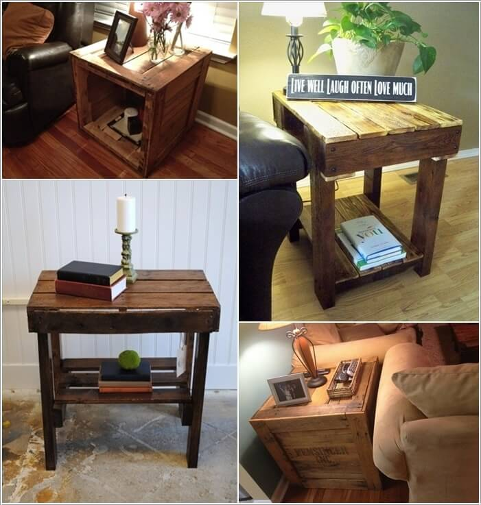 Make Furniture for Your Living Room with Pallets 8