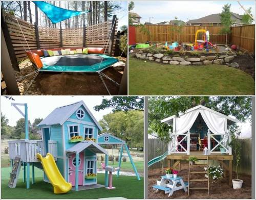 Medium Of Backyard Design For Kids