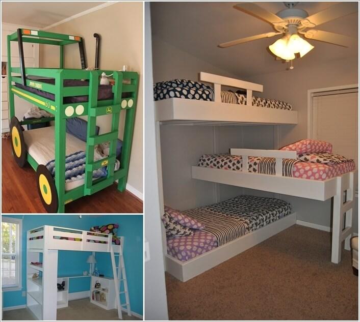 10 Cool DIY Bunk Bed Designs For Kids