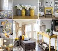 Style Your Living Room in Gorgeous Gray and Yellow