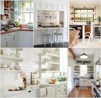 26 Wonderful Open Shelving Ideas for Your Kitchen