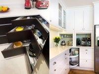 Clever Storage Ideas for Corner Kitchen Cabinets