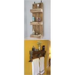 Small Crop Of Homemade Shelves For Bathroom