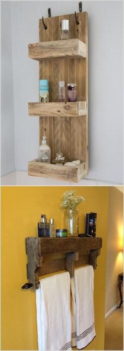Small Of Homemade Shelves For Bathroom