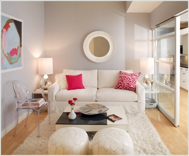 10 Ways to Make a Small Living Room Look Bigger - how to make a small living room look bigger