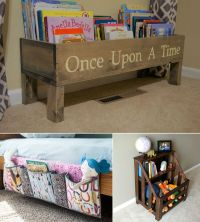 15 Wonderful Kids Books Storage Ideas
