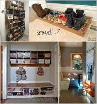 Which Entryway Shoe Storage Idea Do You Like The Most?