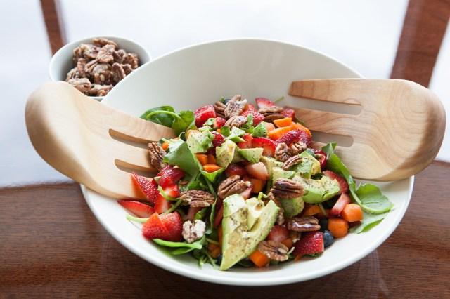 Eat the Rainbow Summer Saladby AmazingPaleo.com
