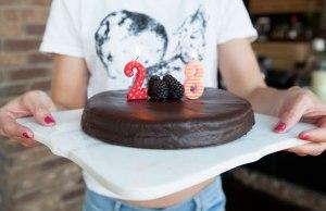 Nut Free Chocolate Birthday Cake