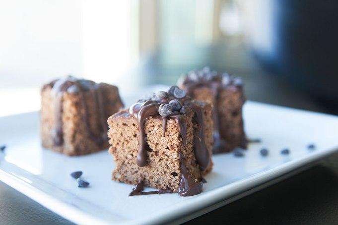 Paleo Protein Brownies