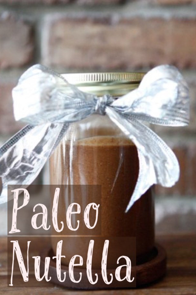 Homemade Paleo Nutella