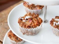 Sweet Raspberry Paleo Muffins