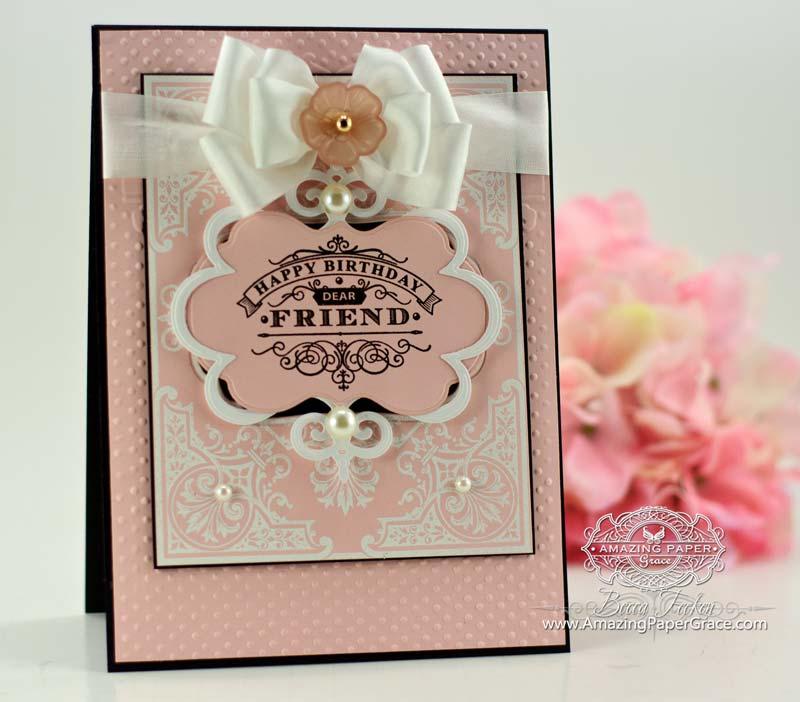 Elegant Corners Birthday Card » Amazing Paper Grace