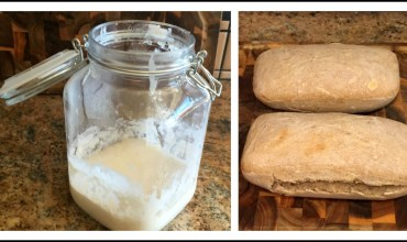 Making Sourdough Starter and Bread from Scratch
