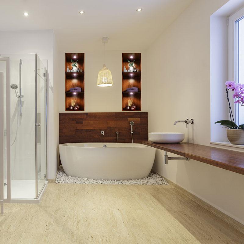 Sticker effet 3D Salle de bain Ambiance spa \u2013 Stickers Art et Design