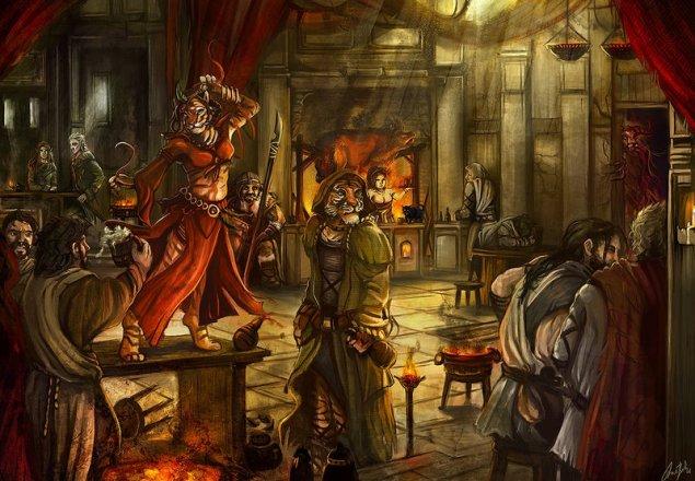 World Of Warcraft Wallpaper Hd Medieval Tavern Rpg Ambient Audio Atmosphere