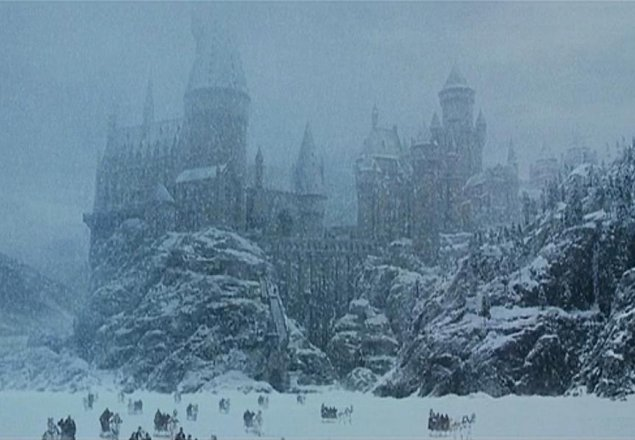 Star Wars Wallpaper Pc Hd Hogwarts Grounds In Winter Audio Atmosphere