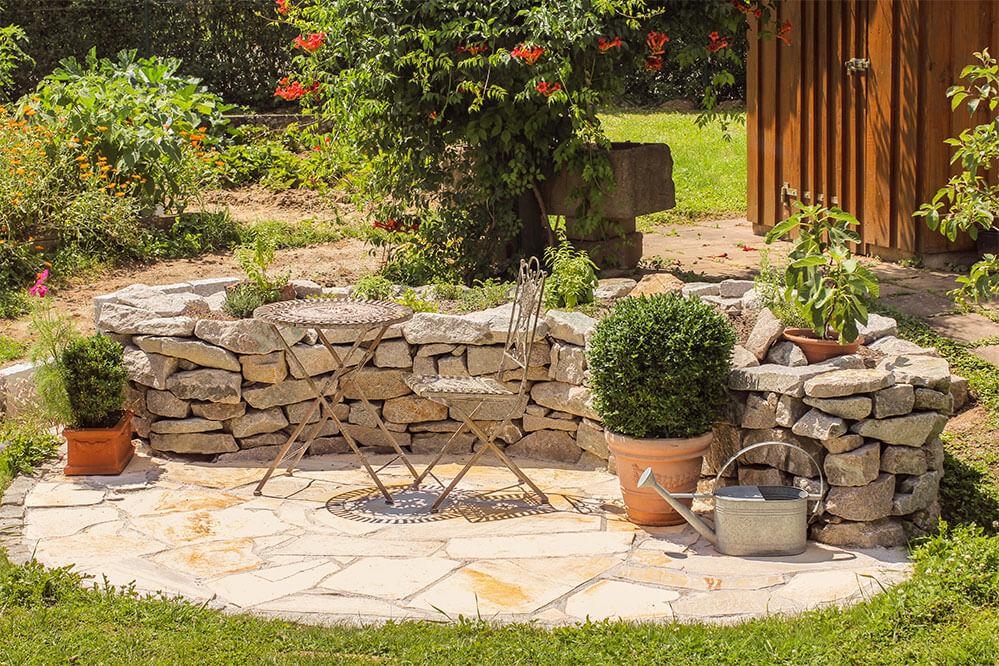 Mediterrane Gärten Gestalten atemberaubend garten gestalten mediterran bilder die besten