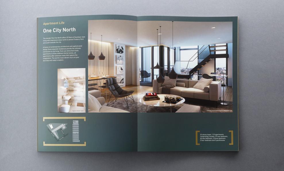 Layflat Property Brochure - City North - Ambrose Press