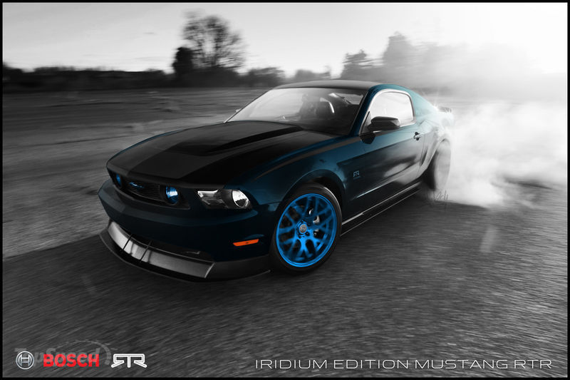 Wallpaper American Muscle Car 2011 Rtr Mustang Bosch Iridium Edition Amcarguide Com