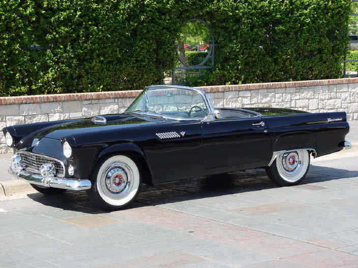 Ford Thunderbird 1955-1957, 1st generation AmcarGuide