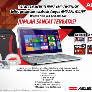 AMD Promo Notebook
