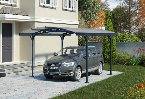 carport hispano aluminium polycarbonate