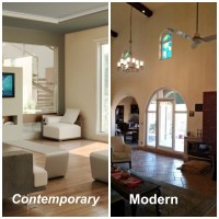 Difference between Modern and Contemporary Interior Decor ...