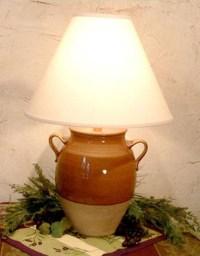 "16""Avignon Glazed Jar Lamp"