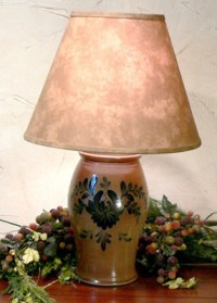 Rowe Salt Glazed Lamps