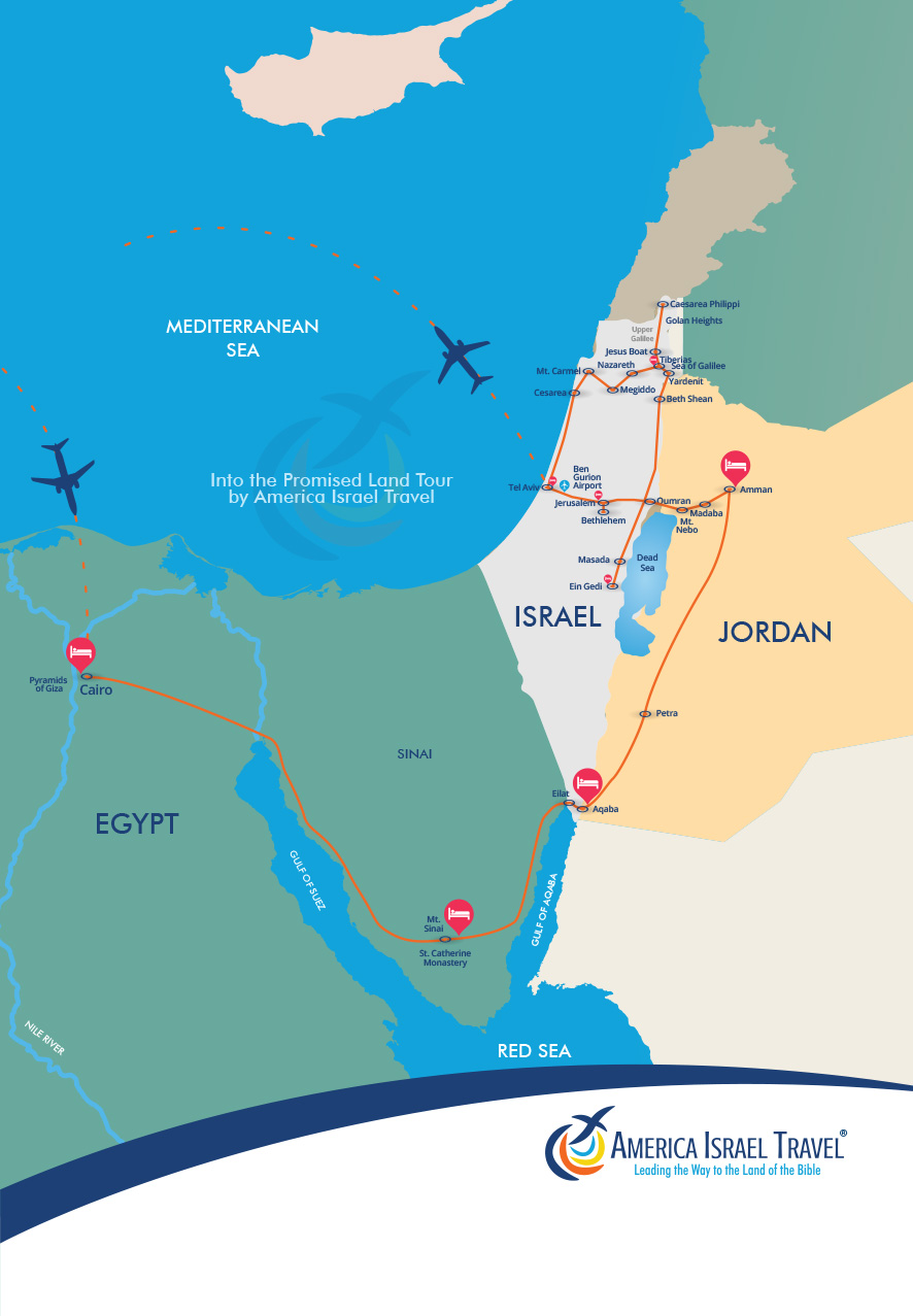 israel map 2020