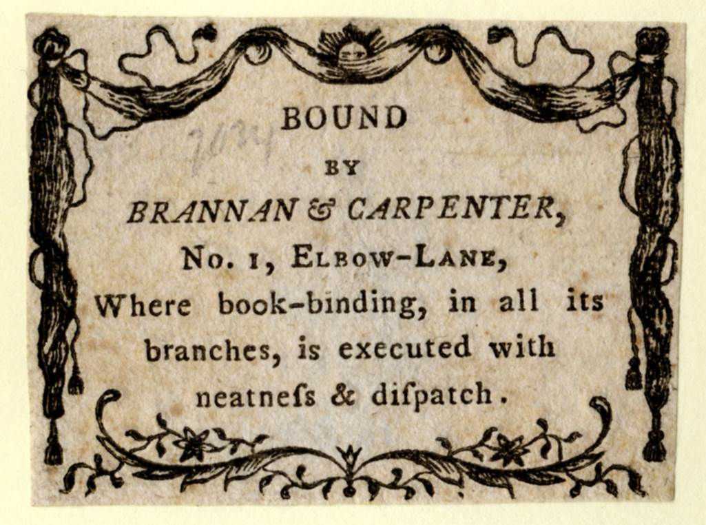 Bookplates and Booksellers\u0027 Labels American Antiquarian Society