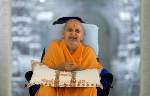 Pramukh Swami Maharaj (Courtesy of BAPS)