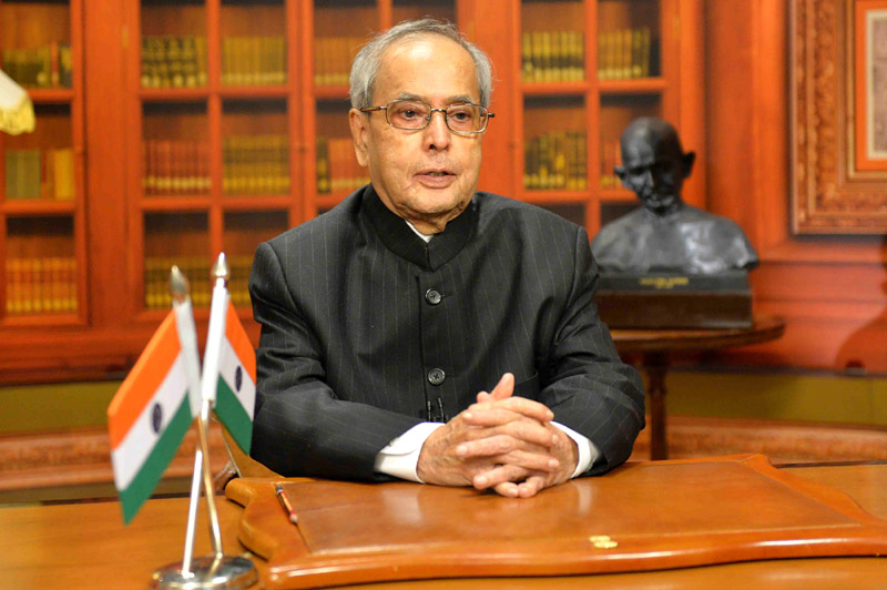 President Pranab Mukherjee greets Trump and Americans with an Independence Day message