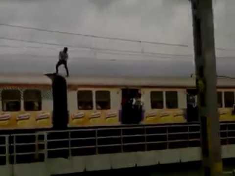train stunt