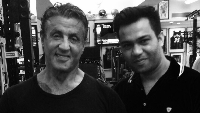 Ali Abbas Zafar and Stallon