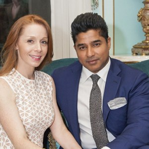 Pamela and Ajay Raju