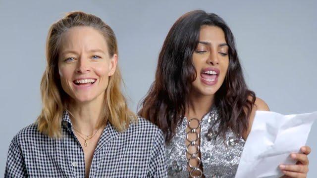 Jodie Foster and Priyanka Chopra (Courtesy of YouTube)